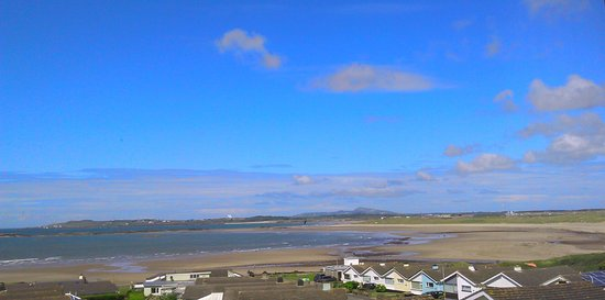 Rhosneigr, UK: View from living room window