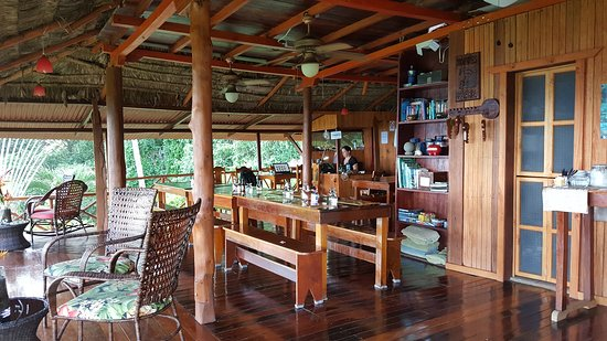 لاس كاليتاس لودج: Dining area