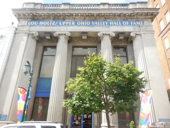 East Liverpool, OH: The Imposing Facade of the Lou Holtz/Upper Ohio Valley Hall of Fame