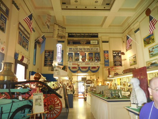 East Liverpool, OH: Interior is Jam Packed with History and Artifacts