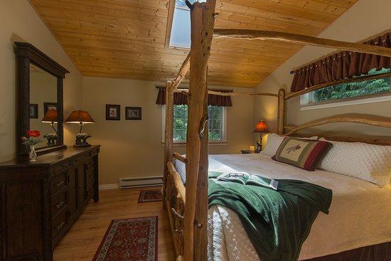 A Hidden Haven Bed and Breakfast : Woodland Retreat Bedroom