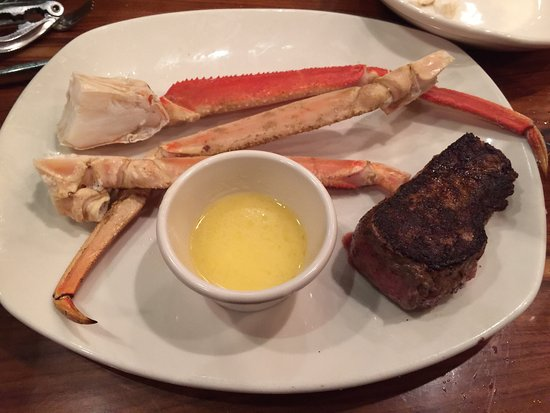 Waynesboro, Βιρτζίνια: 1/2 pound crab and 6 oz sirloin