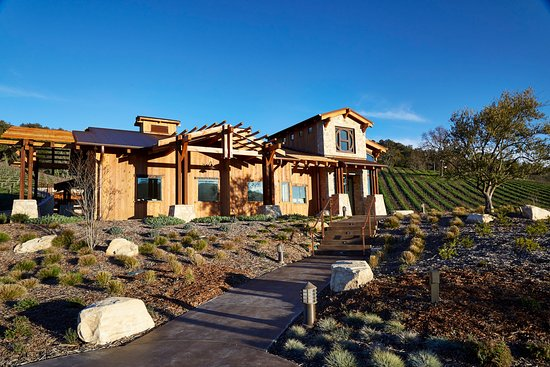 Paso Robles, Californien: The Halter Ranch Tasting Room was opened in February 2016.