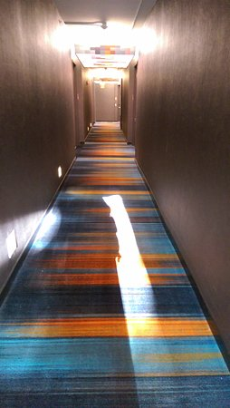 Lexington, MA: Colorful Hallways