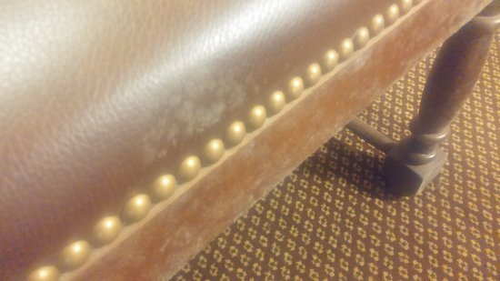 Laurel, MS: Mold covered the furniture.
