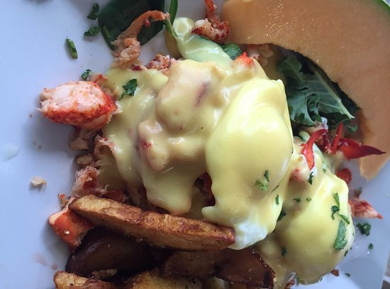 Lake Worth, FL: lobster benedict
