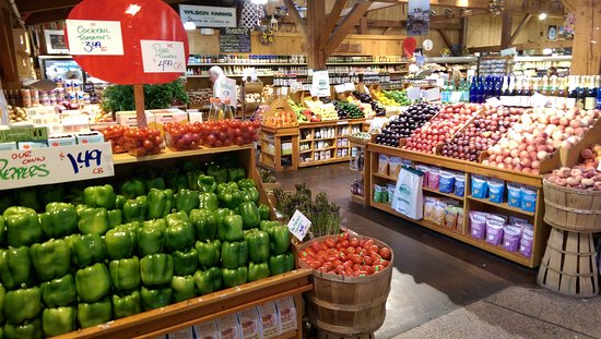 Lexington, MA: Inside produce tables