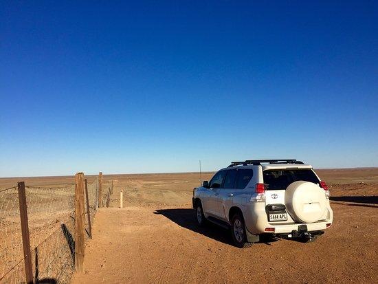 Coober Pedy, Australia: Dog Fence
