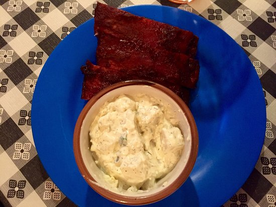 Yankton, Dakota del Sud: Quarter rack of ribs