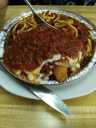 Havre de Grace, Maryland: Pasta and panini