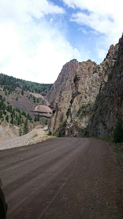 Drive between Creede and Lake City Co. See old sections of both towns! Mines. Views. Animals.