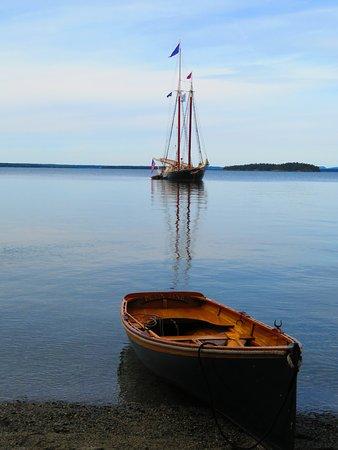 Ρόκλαντ, Μέιν: Peaceful evening just outside of Acadia National Park