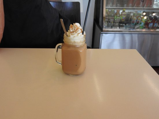 Moe, Australia: Cold coffee :)