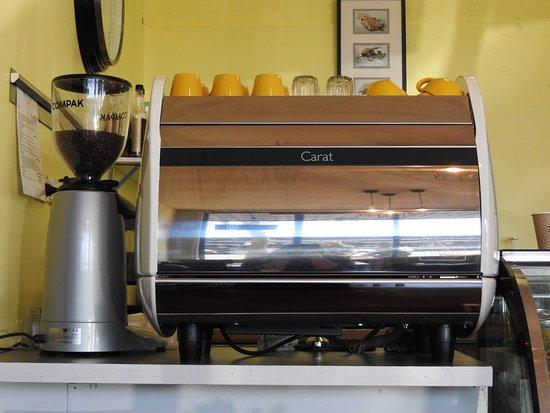 Moe, Australia: The cafe