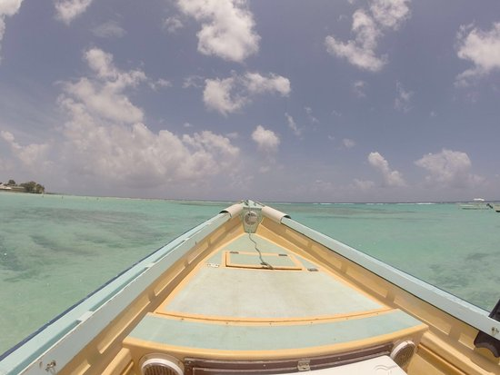 Christchurch, Barbados: View from boat