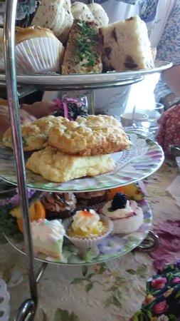 La Tea Da Tea Room : wonderful food