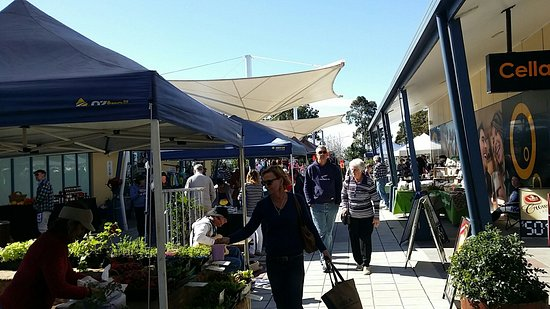Tea Gardens markets on every 3rd weekend of the month!