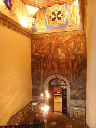 Foto De Casa De Los Azulejos Ciudad De M Xico Escalera