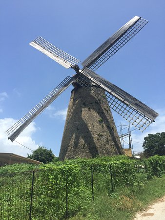 Saint Andrew Parish, Barbados: Morgan Lewis Sugar Mill