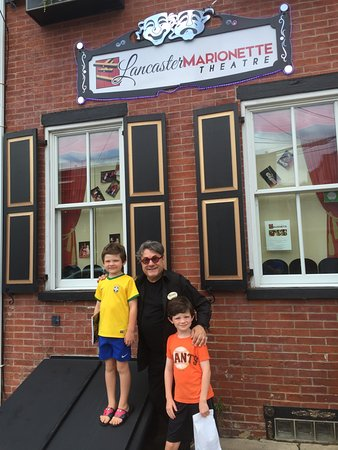 Lancaster Marionette Theatre : Just outside the theater/