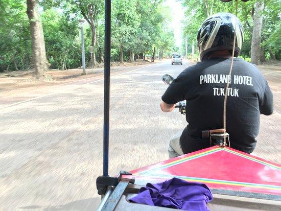 Parklane Hotel: トゥクトゥクドライバーはキムサンが良い!!