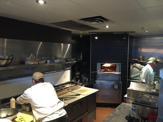 Murrieta's Bar & Grill: Pizza Oven.