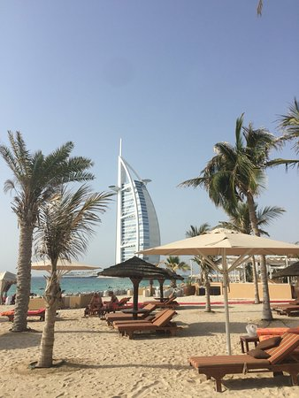 We were offered a complimentary day beach pass for Jumeirah Mina Al Salam Resort