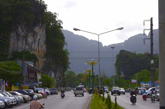Phang Nga Province, Thailand: Really quaint town .
