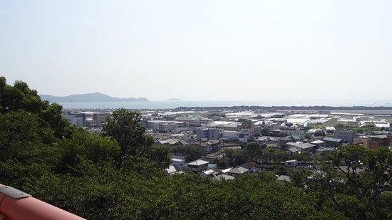 Wakayama, Japón: 仏殿からの眺め