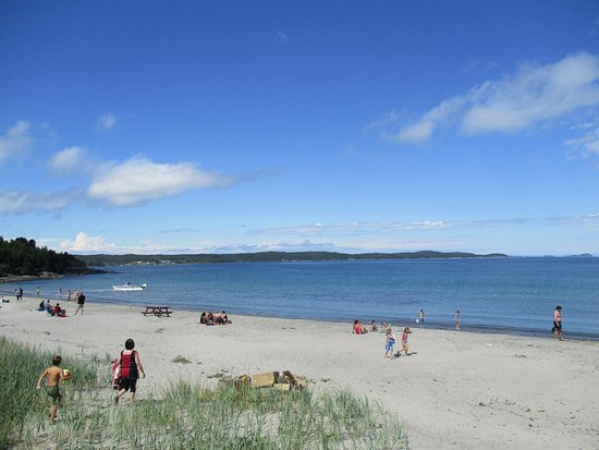Eastport, Kanada: Accessible beach with washrooms and change rooms.