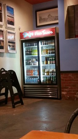 Norco, Californien: The drink fridge, oh yeah!