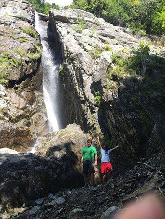 Keene Valley, NY: Roaring Brook Falls