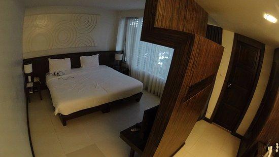 Nora Chaweng Hotel: 一人では十分な広さ。とても清潔でした。