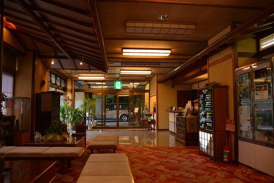 Shiroishi, Japan: 宿のロビー
