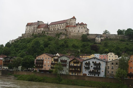 Burghausen, Jerman: Overall view of the castle