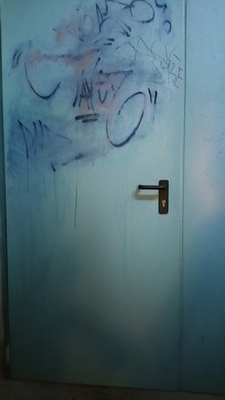 Hotel Planibel - TH Resorts: La porta della sala da pranzo.....