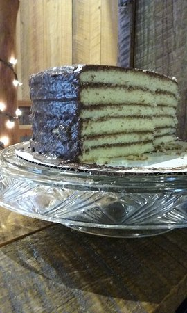 Jesup, GA: 6 layers of  chocolate cake
