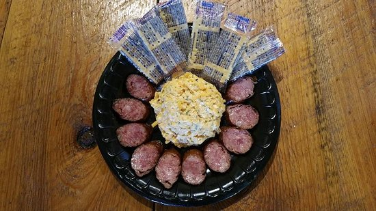 Jesup, GA: Sausage and cheese