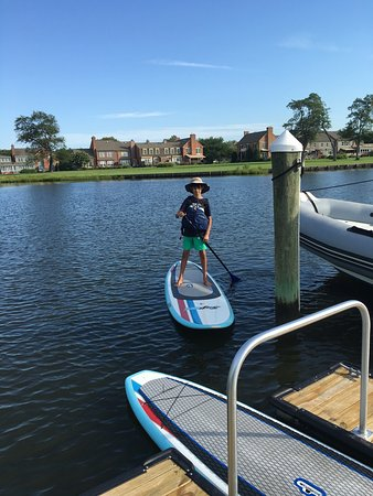 Inn at Perry Cabin by Belmond: Remarkable property! We thoroughly enjoyed our short stay. Ride a bike into town, paddle board o