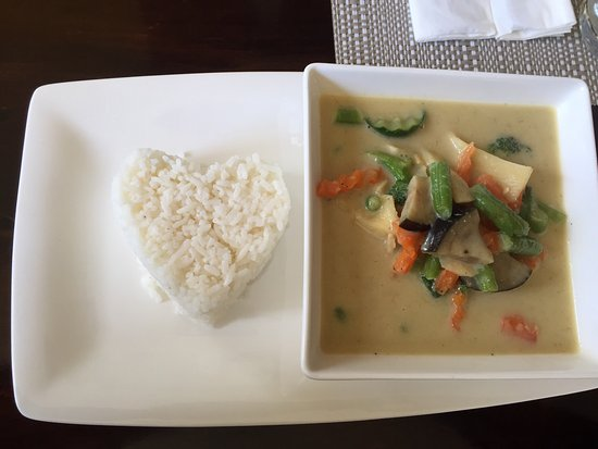 Rolleston, Nueva Zelanda: Green veg curry - delightful