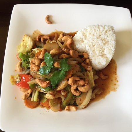 Rolleston, Yeni Zelanda: Delicious vegetarian cashew curry