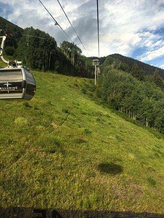 Telluride, CO: Gondola Ride Up