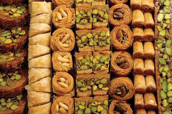 Shtawrah, Lebanon: Seasweet Baklawa. The right measure for pleasure.