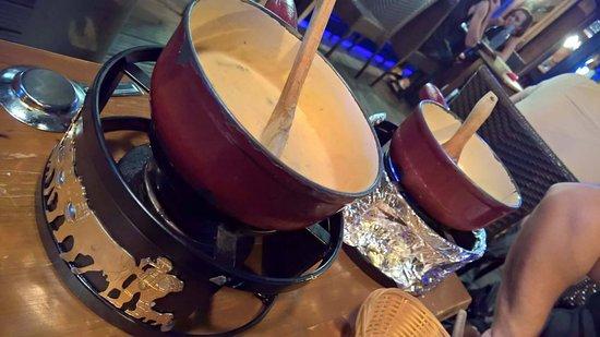 Le Tournavel : Les fondues savoyardes juste un régale.