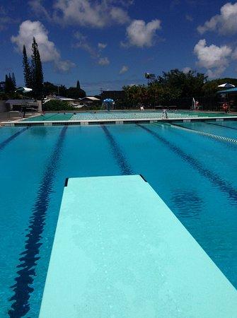 Pahoa, Hawái: 'No fee' Pahao Community Pool - with children's pool.