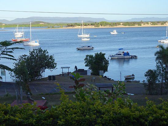 View from Room Seaview Motel Cooktown