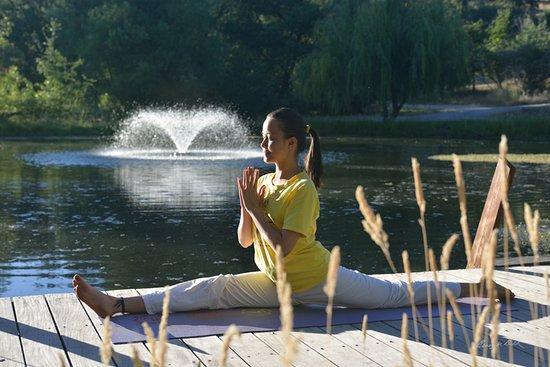 Grass Valley, Califórnia: Yoga at the Yoga Farm.