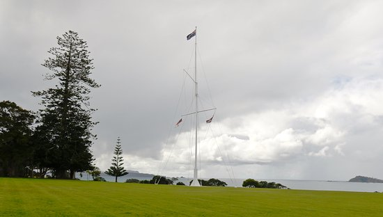 North Island, Nya Zeeland: Waiting Treaty Grounds