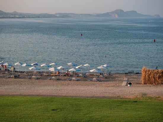 Kolimbia, اليونان: Kolymbia beach from our hotel...