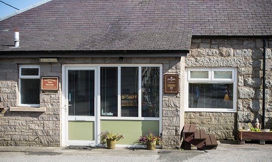 Dalbeattie, UK: front shop